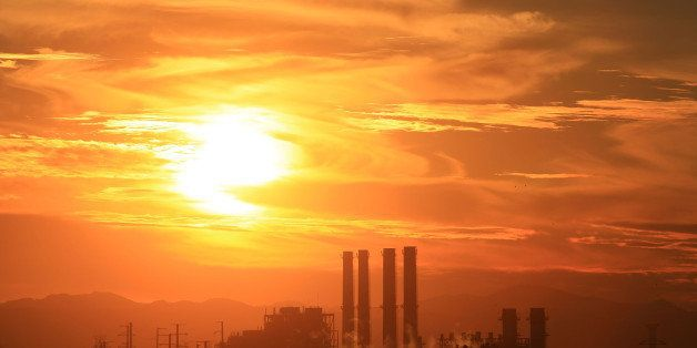 SUN VALLEY, CA - DECEMBER 11:  The Department of Water and Power (DWP) San Fernando Valley Generating Station is seen Decembe