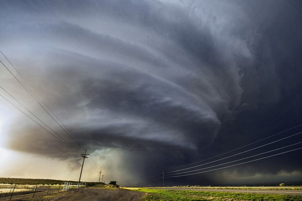This storm was photographed near Roswell, New Mexico.