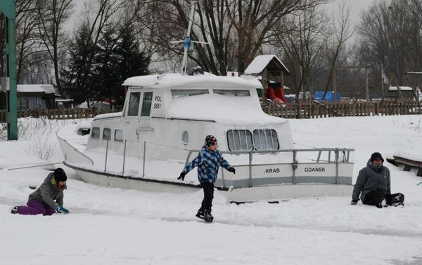 Zalew Zegrzynski Lake, Warsaw.