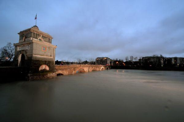 Rome's Ponte Milvio on the Tiber river.