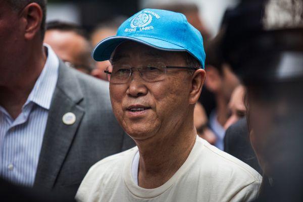 반기문 UN 사무총장.