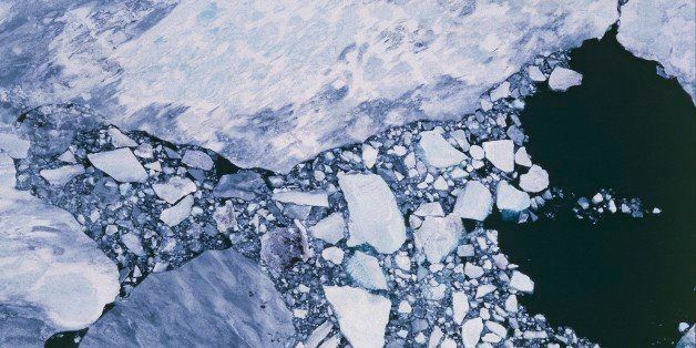 UNSPECIFIED - AUGUST 01: Aerial view of ice pack - Ross Sea, Antarctica. (Photo by DeAgostini/Getty Images)