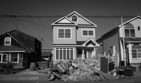 11/23/12: Mantoloking, NJ: Insulation and Other Debris.
