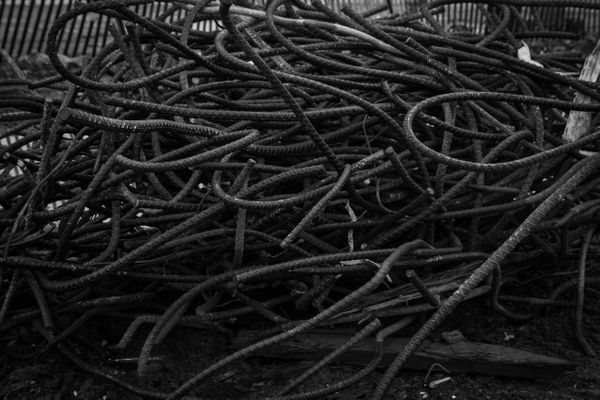 12/9/12: Belmar, NJ: Mangled Rebar.