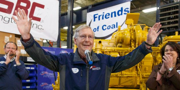 With four days left in Kentucky's combative U.S. Senate race, Senate Minority Leader Mitch McConnell, R-Ky., a 30-year incumb