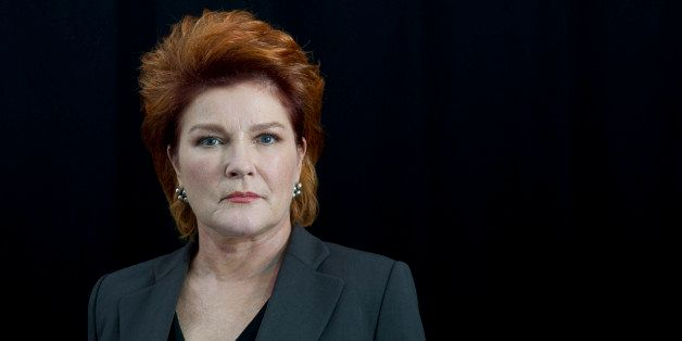 """American actress Kate Mulgrew poses for a portrait in promotion of her role in the Netflix original series """"Orange Is The New"""