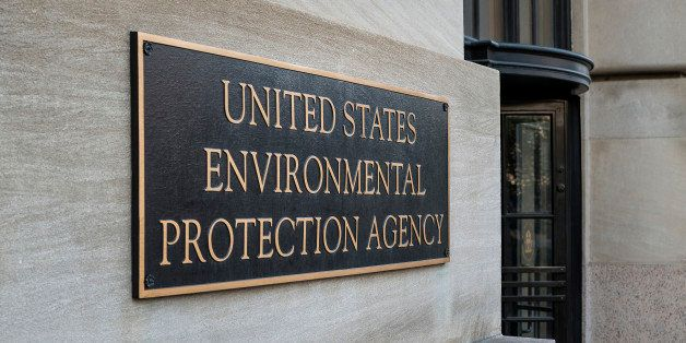 WASGINGTON DC, DISTRICT OF COLUMBIA, UNITED STATES - 2013/06/03: EPA building, Environmental Protection Agency. (Photo by Joh