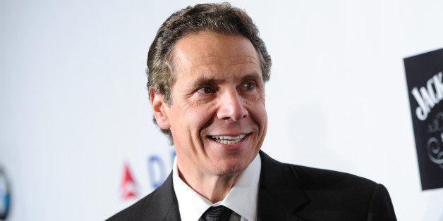 Governor of New York Andrew Cuomo attends The Friars Foundation Gala honoring Robert De Niro and Carlos Slim at The Waldorf-A