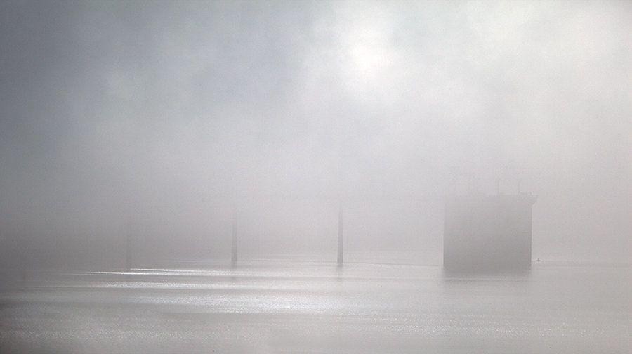 San Luis Reservoir.  Los Banos, Calif.