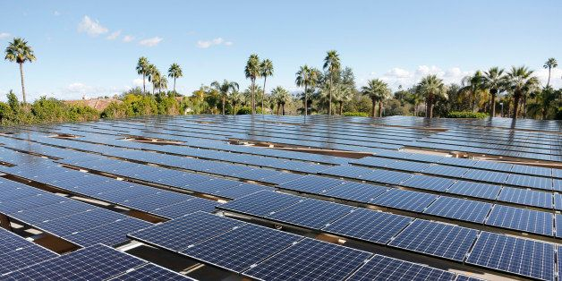 IMAGE DISTRIBUTED FOR NRG RENEW - A solar array now sits atop a parking structure at The Phoenician in Scottsdale, Ariz., on