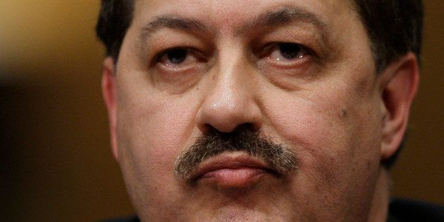 Massey Energy Company Chief Executive Officer Don Blankenship pauses as he testifies on Capitol Hill in Washington, Thursday,