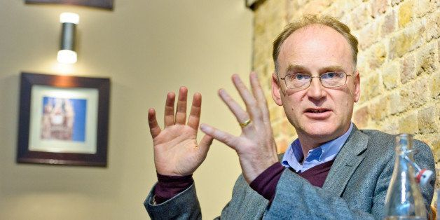 Scientist and author Matt Ridley is photographed during an interview on Friday, April 13, 2012, at St Pancreas Station in Lon