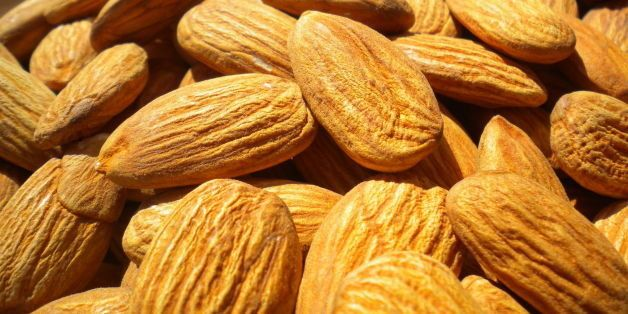"""Raw California Almonds. Please credit HealthAliciousNess.com if you use this photo with a link back to <a href=""""http://www.he"""