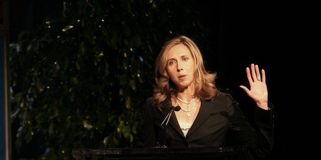 PASADENA, CA - JULY 11: Dr. Heidi Cullen speaks during the 2006 Summer Television Critics Press Tour for The Weather Channel at the Ritz Carlton Hotel on July 11, 2006 in Pasadena, California. (Photo Frederick M. Brown / Getty Images).