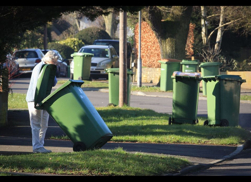 It's not only the nosy neighbor who's watching in Cleveland.   Next year the city plans to give recycling carts to resident