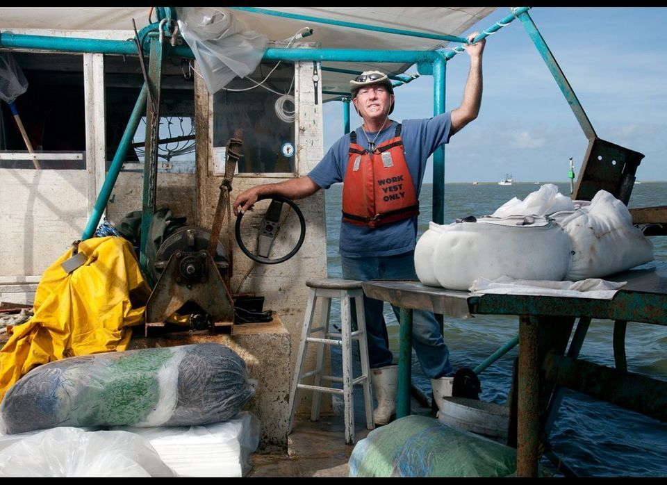 Alan Clark is an oysterman who worked for the BP Vessels of Opportunity program, which offers between $1,200 and $3,000 a day