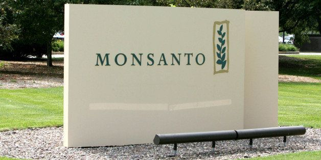 ** ADVANCE FOR MONDAY DEC. 14 ** FILE -This June 29, 2009 file photo shows the sign at the Monsanto Co. headquarters located