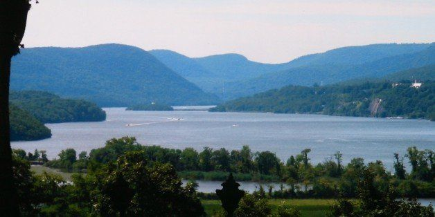 Looking south from the Boscobel House - Boscobel Restoration, Cold Spring, NY