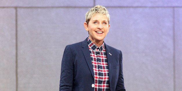 NEW YORK, NY - SEPTEMBER 08:  Ellen DeGeneres attends 'The Ellen DeGeneres Show' Season 13 Bi-Coastal Premiere at Rockefeller