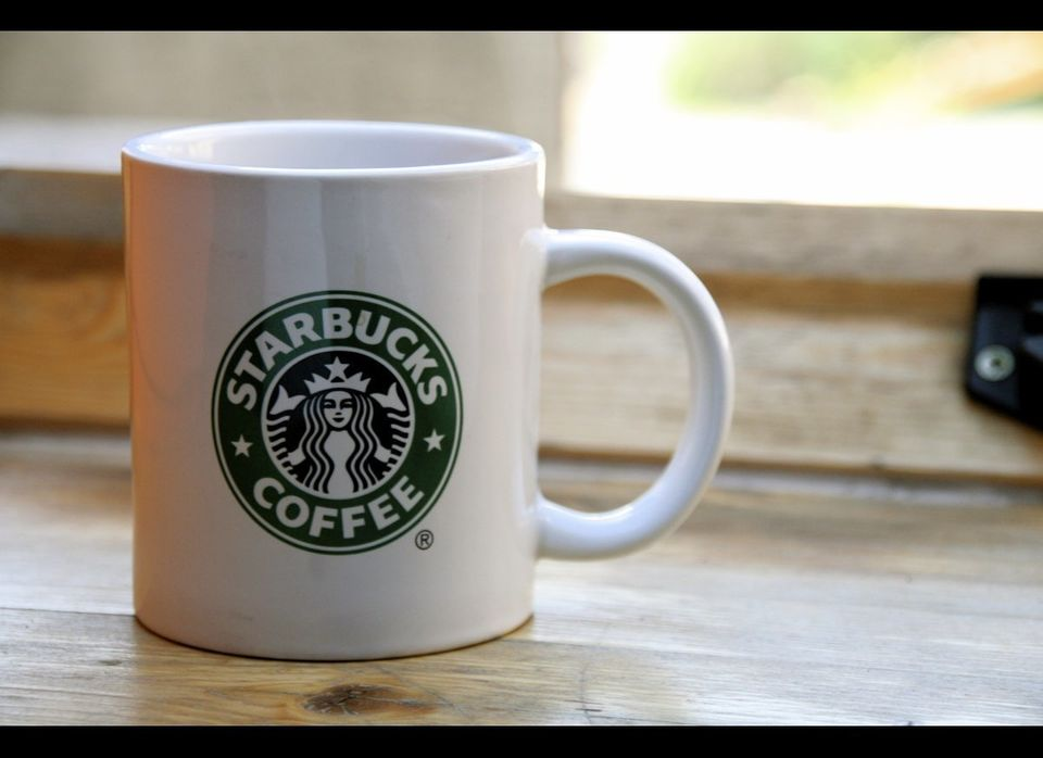 """Starbucks is giving away a <a href=""""http://www.starbucks.com/blog/happy-earth-day/993"""" target=""""_hplink"""">free cup of coffee or"""