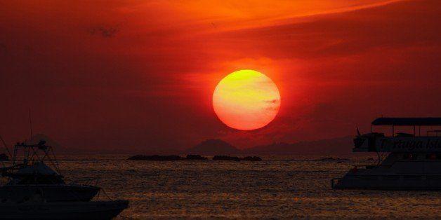 Red Sun Sunset