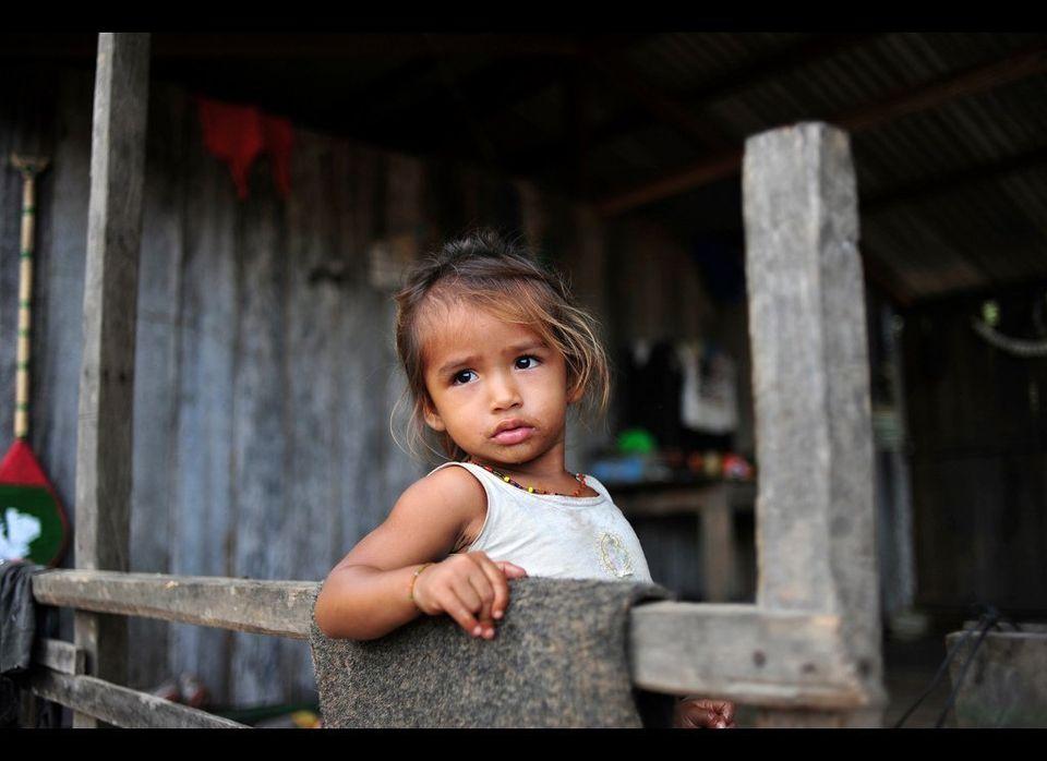 Portrait of people in Amazon - Brazil, 2011.