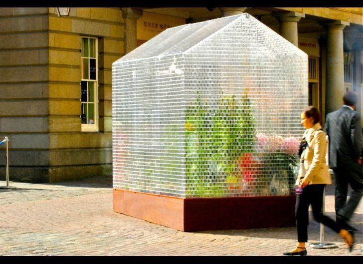 Earlier this week, the city unveiled the world's first functioning greenhouse made of 100,000 LEGO bricks!