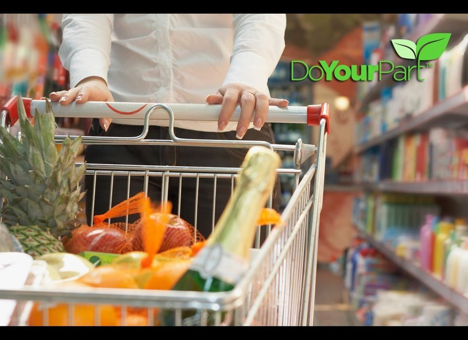 Spend a second and think about how much money you spend at the grocery store each month? The average family of four spends ab