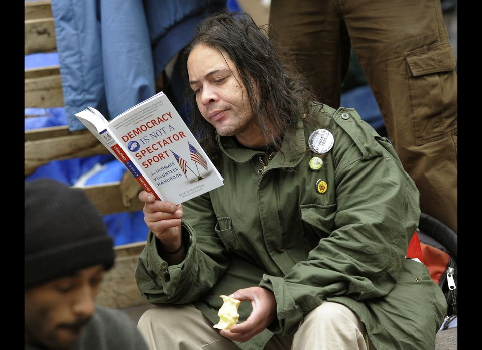 <strong>Activist</strong>: Occupy Wall Street protester  <strong>Cause</strong>: Advocate for the 99 percent  <strong>Cos