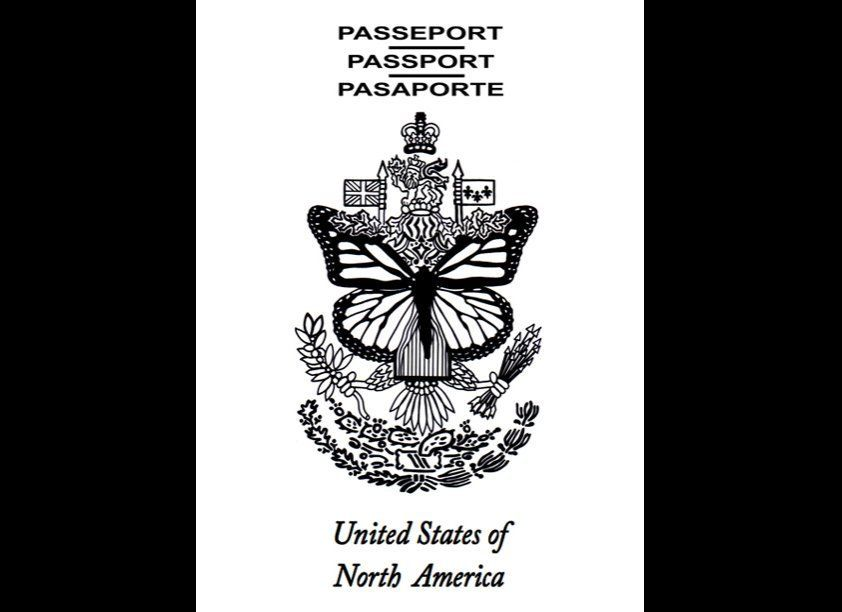 United States of North America - Passport, 2010