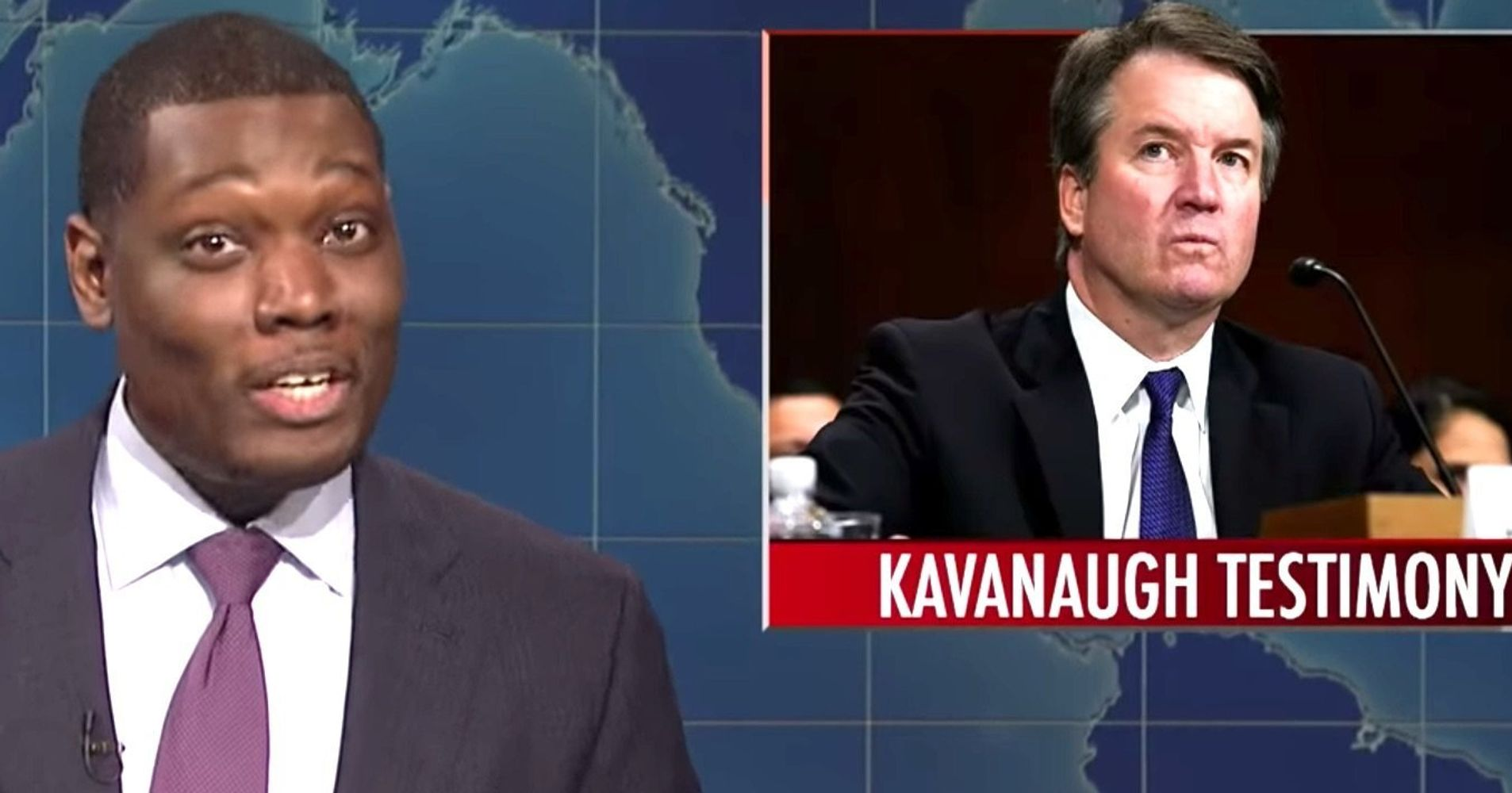 Image result for Kavanaugh snl michael che