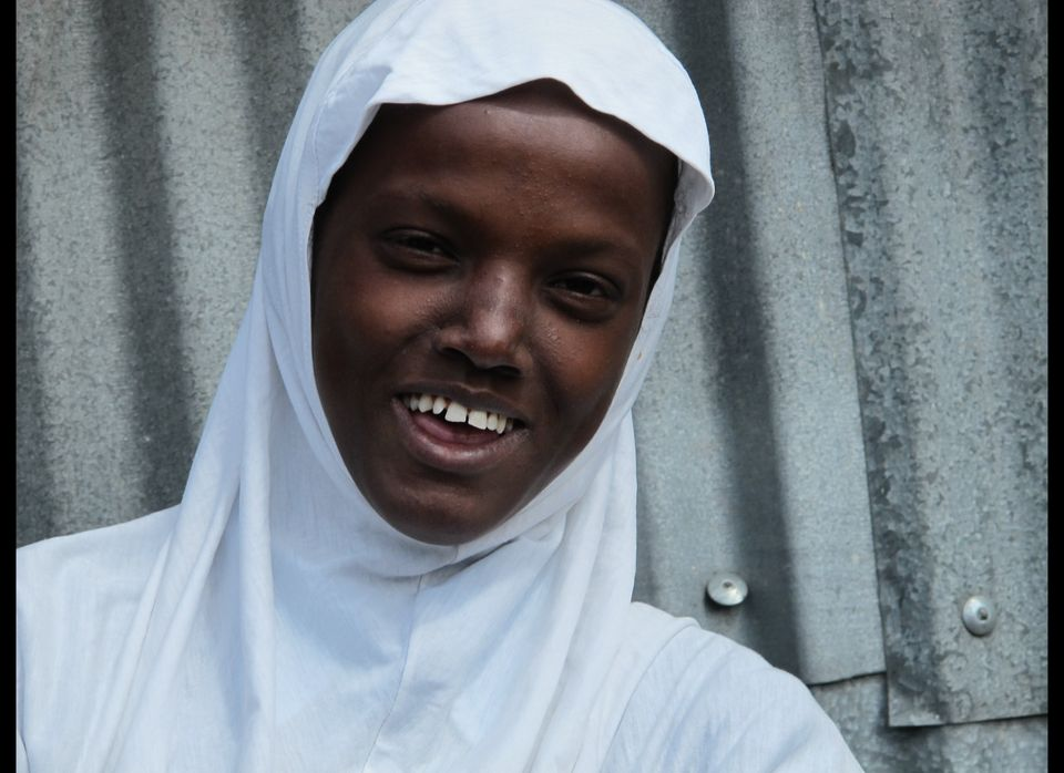 Fatuma, a 16-year-old girl in class 8, goes to Gramo Joy Pre & Primary School.