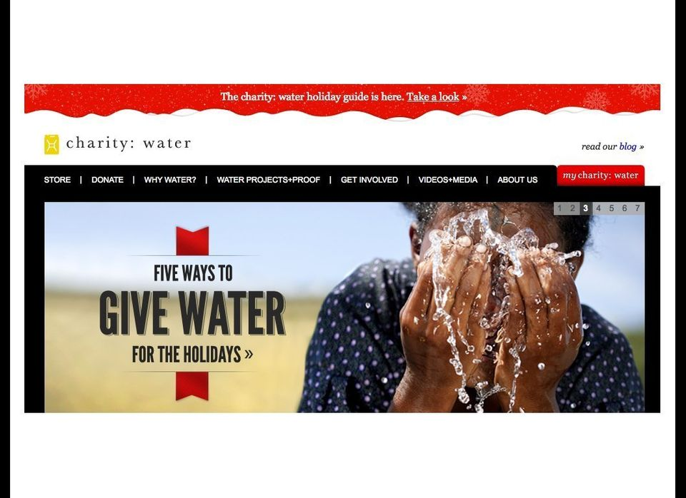 """<strong>The Mission:</strong> <a href=""""http://charitywater.org"""" target=""""_hplink"""">Charity: water</a> is a non-profit bringing"""