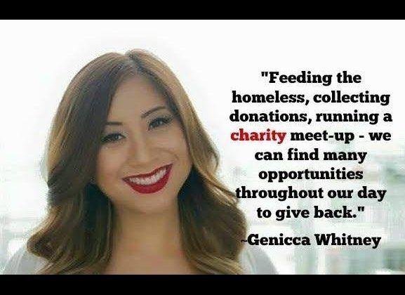 Businesswoman and philanthropist.   Twitter handle: @geniccadotcom.