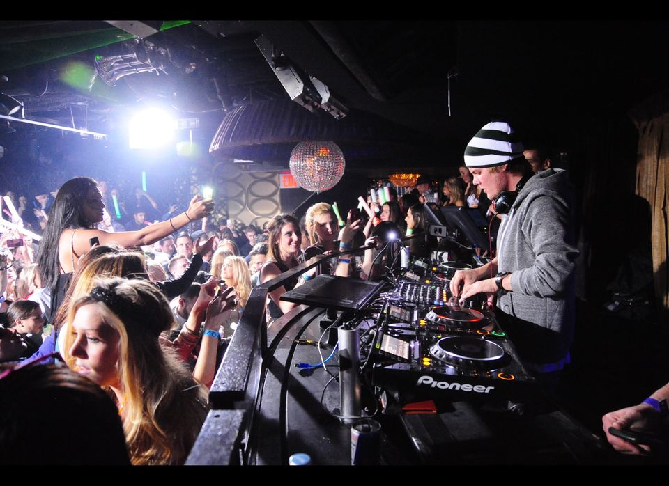 Grammy-nominated DJ Avicii performs Jan. 21 at Lavo in New York City, one of 26 stops on his House for Hunger tour that will