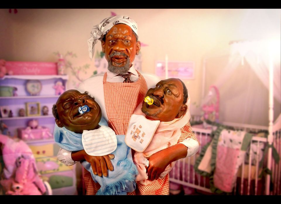 Africa's first political satire puppet show takes no prisoners, poking fun at figures as diverse as Kenyan President Mwai Ki