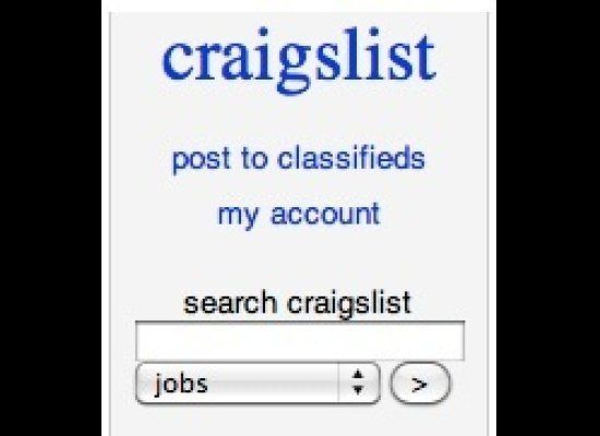 "The no. 1 place recruiters look for applicants, <a href=""http://newyork.craigslist.org/"" target=""_hplink"">Craigslist.org </a>"