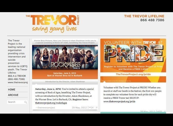 The Trevor Project, a national organization for the prevention of suicide and safety of LGBTQ young people, uses hot lines an