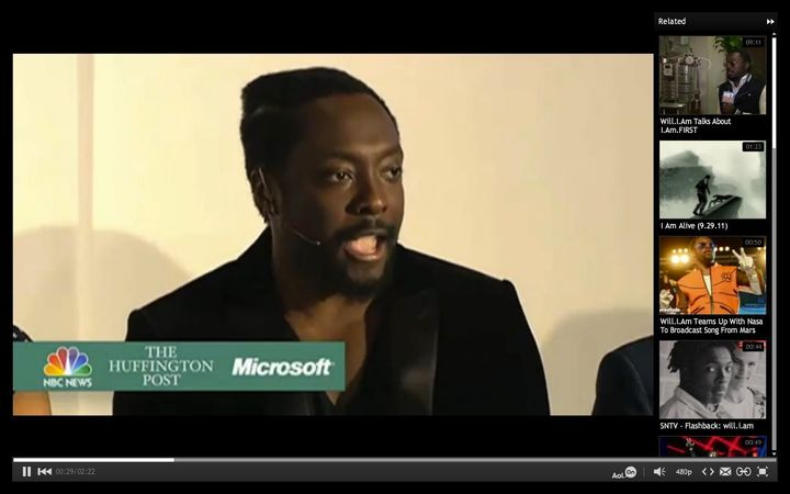 Will i am, Bruce Springsteen, Steve Jobs and Why We Can't Wait for