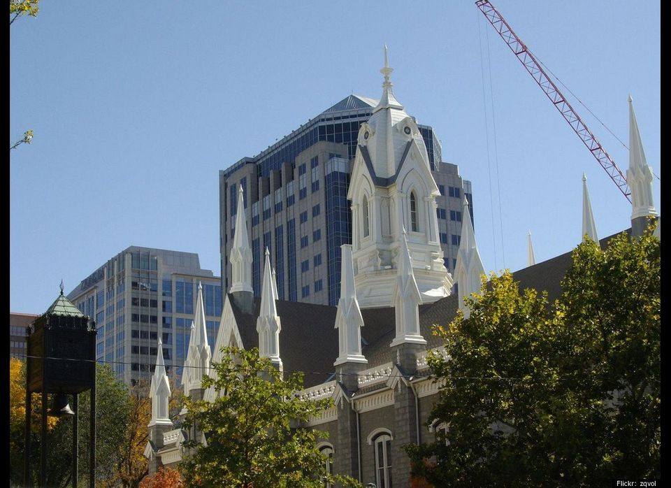 A whopping 68 percent of households give in Salt Lake City.