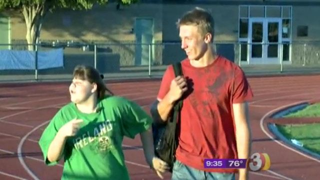 "Chy Johnson, who suffers from a brain disorder, used to find school intolerable, <a href=""http://www.azfamily.com/news/local/"