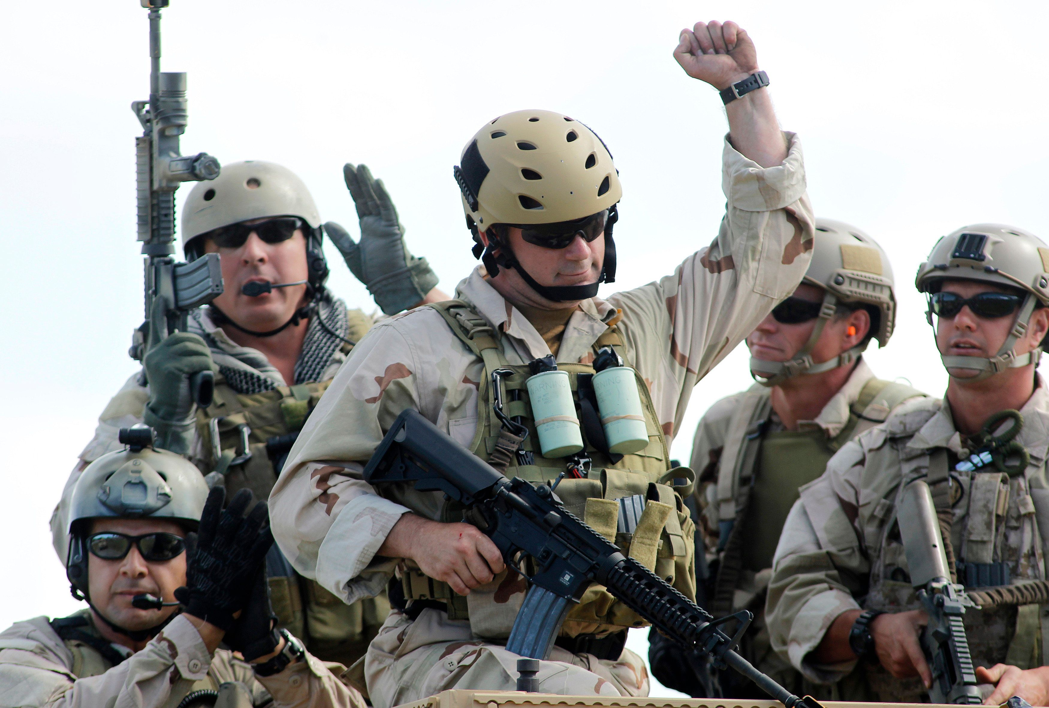 Talk to a navy seal