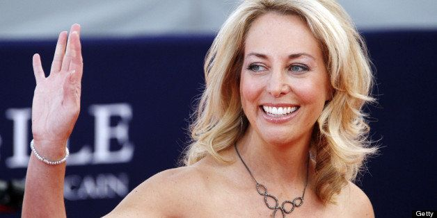 US screenwriter, Valerie Plame, arrives to attend the screening of the movie 'Fair game' presented at...