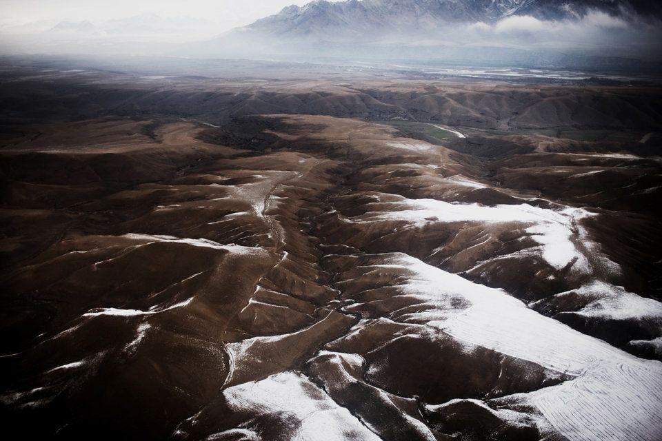 Early winter landscape in eastern Afghanistan.