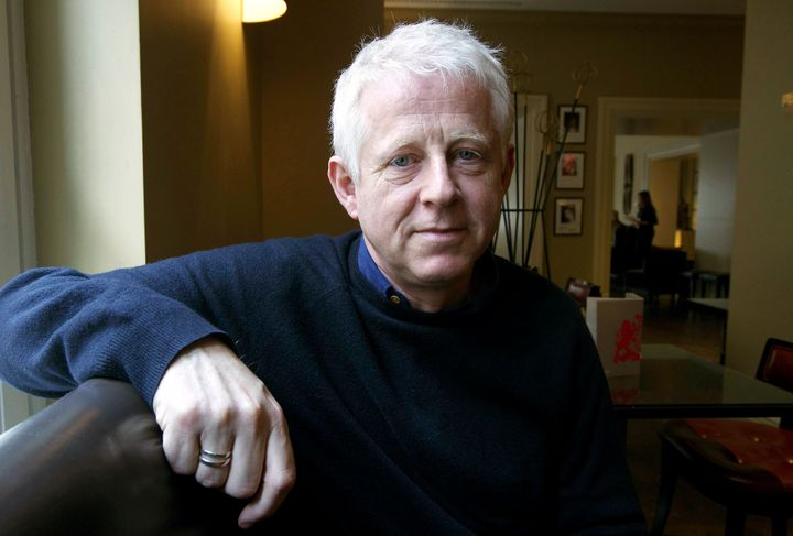 British screenwriter Richard Curtis poses while presenting the movie 'Mary & Martha', directed by Phillip Noyce as part of th
