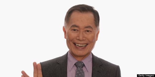 HOLLYWOOD, CA - FEBRUARY 17:  Actor George Takei poses for a portrait in the TV Guide Portrait Studio at the 3rd Annual Strea