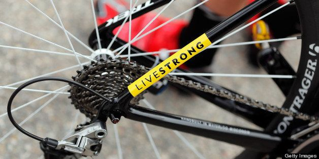 BRECKENRIDGE, CO - AUGUST 24:  A detail photo of the bike of a rider from the Bontrager-Livestrong team prior to stage five o