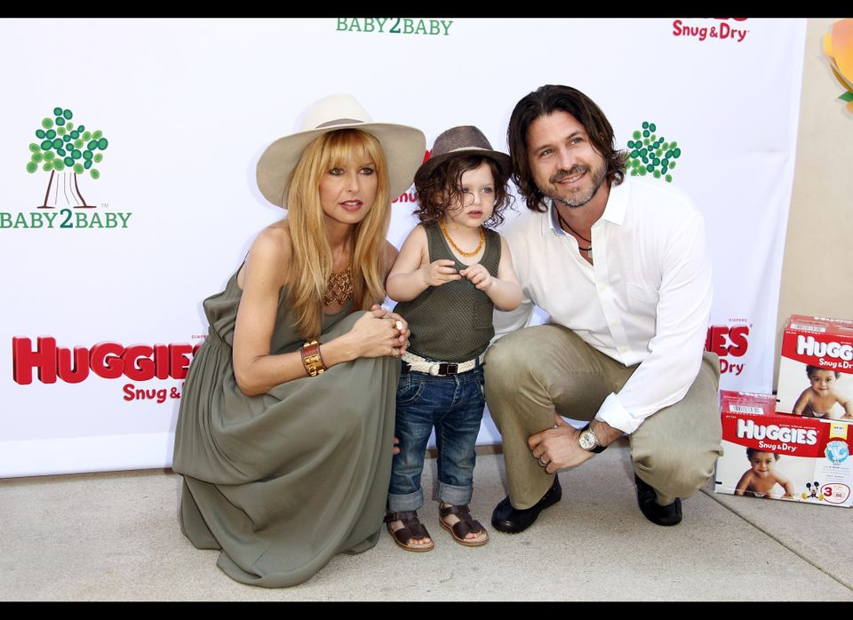 Rachel Zoe, Rodger and Skylar