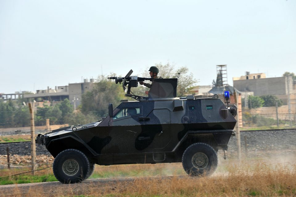 Turkey has struck the Syrian military repeatedly in response to shelling and mortar rounds from Syria since Oct. 3, when shel