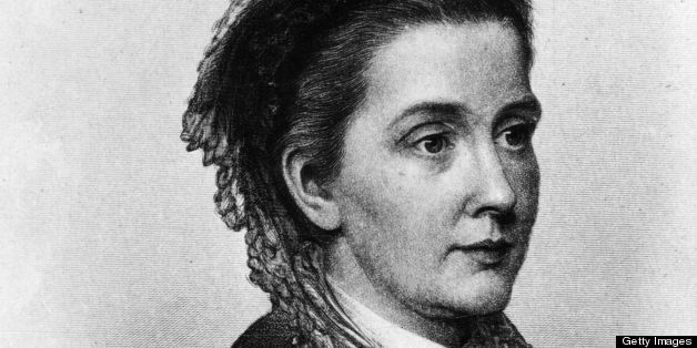 circa 1855:  American feminist, abolitionist and reformer Julia Ward Howe (1819 - 1910). She is best known fro writing the Ba